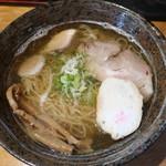 麺屋たっか - 料理写真:塩 2018.12月