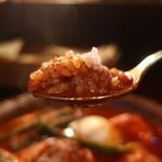 札幌スープカリー アナンダ - やわらか炙りでかチキンカリーリフトアップ