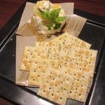 自家製ローストビーフ&生ハム食べ放題 肉バル PERORI - マスカルポーネチーズ
