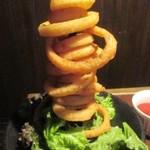自家製ローストビーフ&生ハム食べ放題 肉バル PERORI - オニオンリング