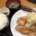 彩 - ♪本日のX(チキンステーキ塩レモン)¥700