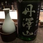 くら川 - 丹沢山 山廃純米酒 凛峰