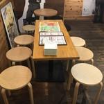 野毛焼そばセンターまるき - テーブル3