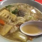 木蘭 - いつまでたっても飽きないトロトロの伝統のスープ