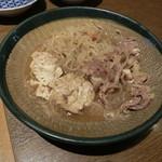 蔵元居酒屋 清龍 - 肉豆腐450円