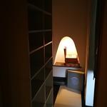 ほりかわ珈琲店 - 個室入口