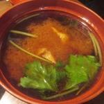 川井屋本店 - 味噌汁