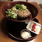 仕事馬 - 馬肉ハンバーグ950円