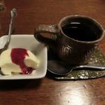 仕事馬 - デザート、コーヒー