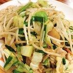 天平食堂 - 肉野菜炒め  500円