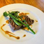 GRAND DELI - 「糸島豚のグリル」。贅沢ステーキでした。