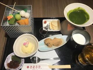 吾妻茶寮 - 抹茶フォンデュ
