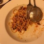 97998107 - 親鳥もも肉とフレッシュトマトのスパゲティ