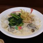 Chibuneya - スープ仕立てのクリームうどん(カキ入り)