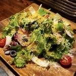 石川のカラスミ イタリアンサラダ