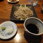 志蕎庵 江月 - 一番目の蕎麦(十割)