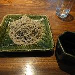 志蕎庵 江月 - 二番目の蕎麦(手挽き十割)