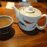 志蕎庵 江月 - 蕎麦湯はドロッとしています