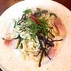 Aji-to - 料理写真:厚切りベーコンと下仁田ネギのオイルパスタ
