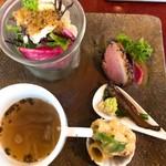 Aji-to - 前菜の盛り合わせ