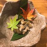 海猫家 - アワビの肝の塩辛