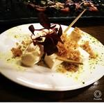 福井のへシコとクリームチーズ