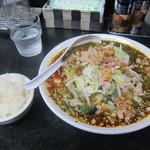 ミヤビ - 料理写真:担々タンメン