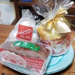 98002687 - クリスマスケーキ&ピーカンボーロ&パピトーネ