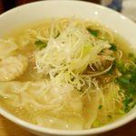 98002771 - 【清湯】鶏わんたん麺(塩)