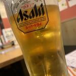 魚寅食堂 - 生ビール