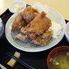 Gohandokoroasahiya - 料理写真:甘酢から揚げ定食850円税込+ご飯大盛り100円税込