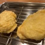 天ぷら酒場 by つか蕎麦 - 鶏ささみと鶏なんこつのつくね