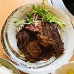 かずえ - 牛モモステーキ