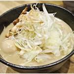 煮干し中華そば 一剣 - 一剣味噌 700円 煮干&味噌&生姜♪