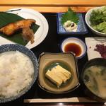 広瀬 - 銀ダラの照り焼き定食1000円