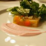 ラ ブラスリー - 料理写真:前菜 野菜のゼリー寄せ