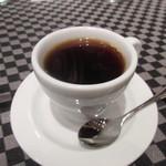 リストランテ カノビアーノ - 最後はコーヒーをいただいてこの日のお洒落な忘年会は終了です。