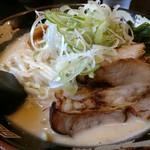 北海道らぁ麺 ひむろ - 味噌ラーメン。