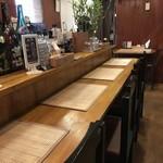 クーカレー - カウンター5席と2人掛けテーブルが一つのお店です(2018.12.7)