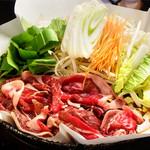 元祖 紙やき ホルモサ - 1番人気のマトン鍋です!