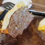 手づくりハンバーグ ラルコーン - 肉汁ジュワ~です♪