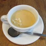 手づくりハンバーグ ラルコーン - 【コーンスープ】