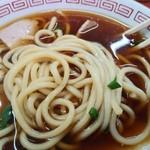 中華そば 住吉 - 麺アップ