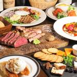 熟成肉×Bistro OGINO - 料理写真:プレジールコース
