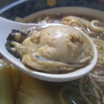 そば屋 ふさよし - プリプリのグラマー牡蠣さん