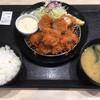 松のや - 料理写真:たっぷりささみかつ定食 ご飯 味噌汁 お代わり無料!