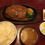 レストラン喫茶 タクト - ハンバーグ定食¥930