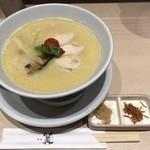 銀座 篝 - 鶏白湯