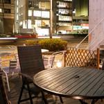 LaLa Cafe - テラス席
