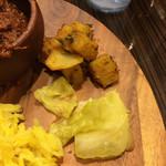 マサラ食堂 - キャベツとジャガイモのサブジ